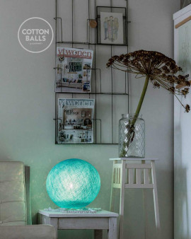 Standing Lamp - Aqua