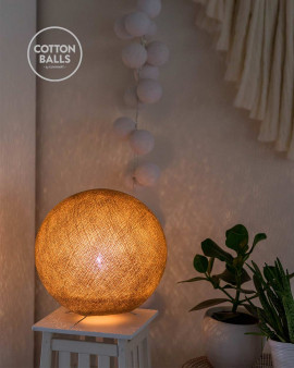 Standing Lamp - Beige