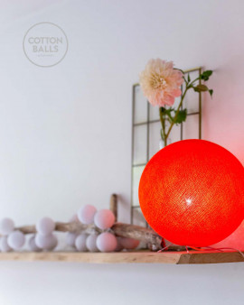 Standing Lamp - Bright Orange