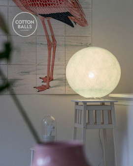 Standing Lamp - Light Aqua