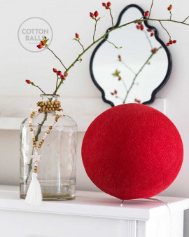 Standing Lamp - Red