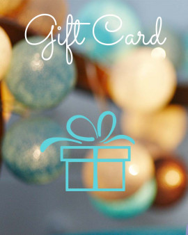 Gift Card for whatever you want