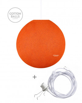 Wandering Lamp - BIG Lamp Bright Orange