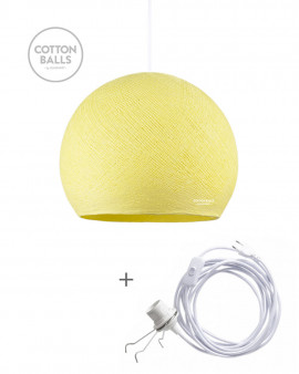 Wandering Lamp - BIG Cup Soft Yellow