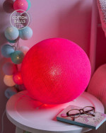 Standing Lamp - Bright Pink